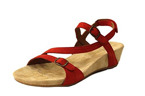BENVADO - Sandalias de vestir para mujer Paprika