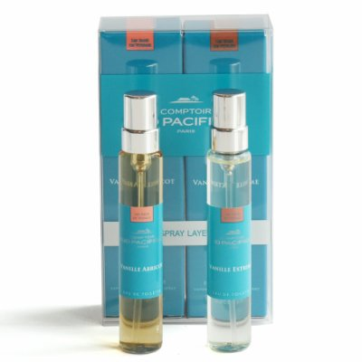 (Comptoir Sud Pacifique Vanille Travel Spray Layering Duo, Apricot & Extreme, 0.6 fl. oz.)