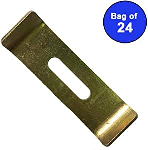 Zap Sinks Undermount Sink Clips Mounting Brackets Bag