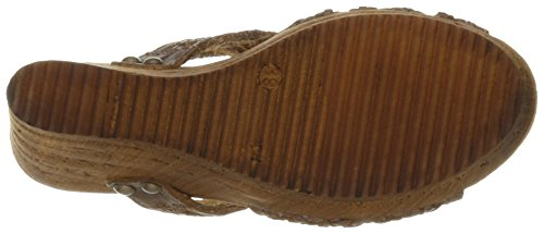 Sbicca Women's Macos Wedge Sandal Brown clearance classic free shipping in China ImbtVTs