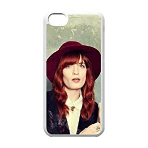 iPhone 5c Cell Phone Case Covers White Florence and the Machine MSU7136637