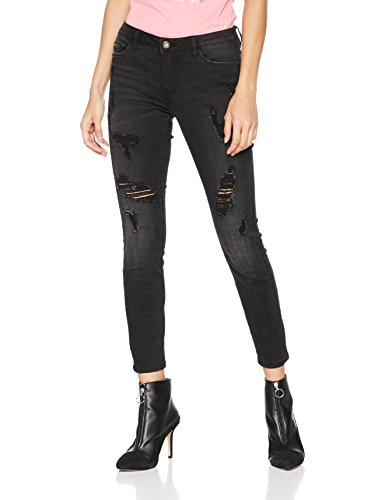 Only Skinny Jeans Donna black Nero wUwvZAq