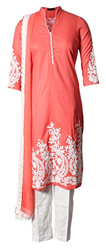 AzraJamil-Endearing-Cotton-Dori-Embroidered-Pant-Suit-Peach