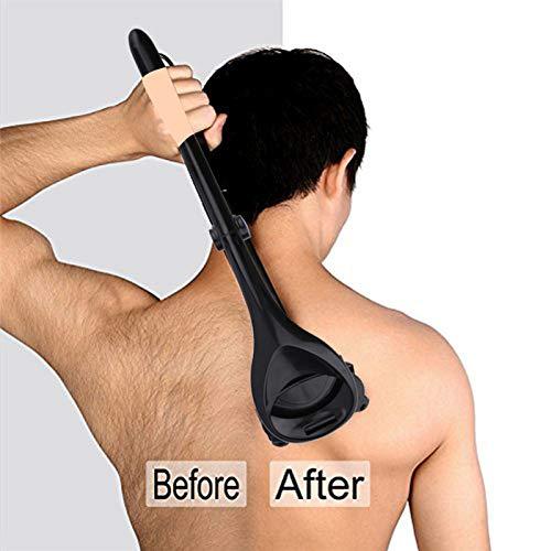 EDTara Hair Remover Unisex Manual Portable Foldable Hair Shaver Long Handle Hair Trimmer Hair Removal Tool