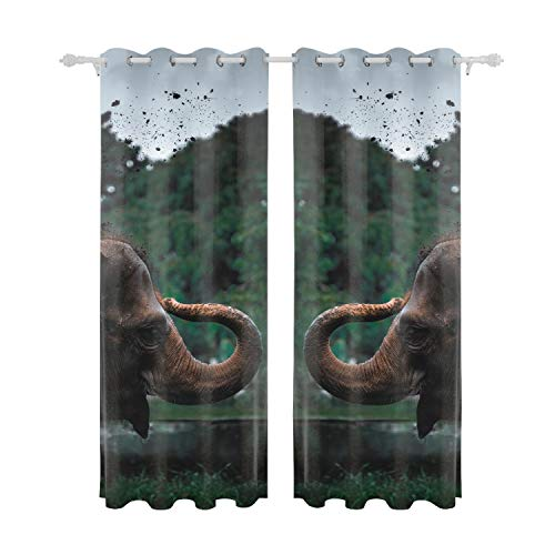 Yves Horace Fabric Shower Curtain Liner 55