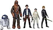 Star Wars Celebrate The Saga Toys Rebel Alliance Figure Set, 3.75-Inch-Scale Collectible Action Figure 5-Pack