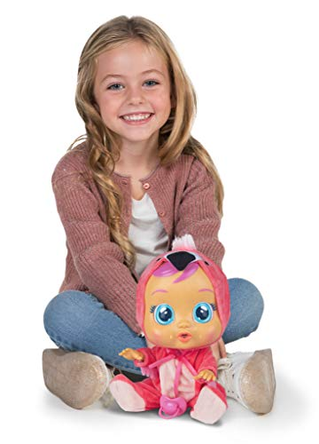 Cry Babies Fancy The Flamingo Doll, Pink (97056IM)