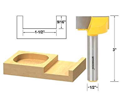 Yonico Bottom Cleaning Router Bit