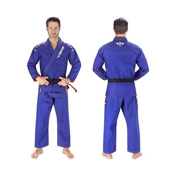 Adults BJJ Gi Competition Kimono Brazilian Jiu Jitsu Uniform MMA Grappling Elite
