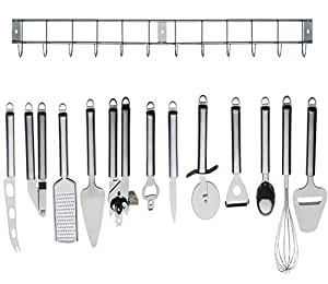 Kabalo complete cooking set 12pc stainless steel kitchen for Kitchen set name