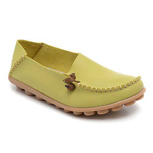 63f63056d Fisca Leather Women s Moccasins Loafer Flat Shoes 80%OFF ...