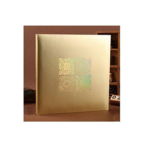 - Boyuanweiye Photo Album, Handmade Traditional Photo Album, Suitable for Family Collection Graduation Commemorative Gift,Gold Have (Color : 5)