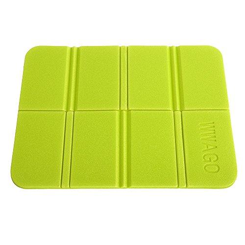 CN-Culturegg Outdoor Folding Camping Cushion Waterproof Sitting Mat,Apple Green