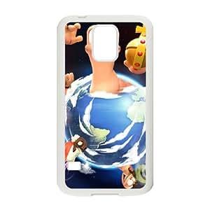 Worms Clan Wars Samsung Galaxy S5 Cell Phone Case White 53Go-279464