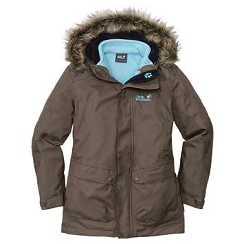 JACK WOLFSKIN Mädchen Winterjacke Mantel Jacke Parka warm mit Kapuze Gr.140