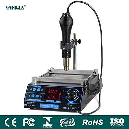 853AA High power ESD BGA rework station PCB preheat and desoldering