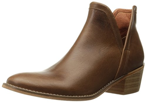 Wolverine 1883 Women's Delaney Ankle Bootie, Brown Leather, 6 M US by Wolverine