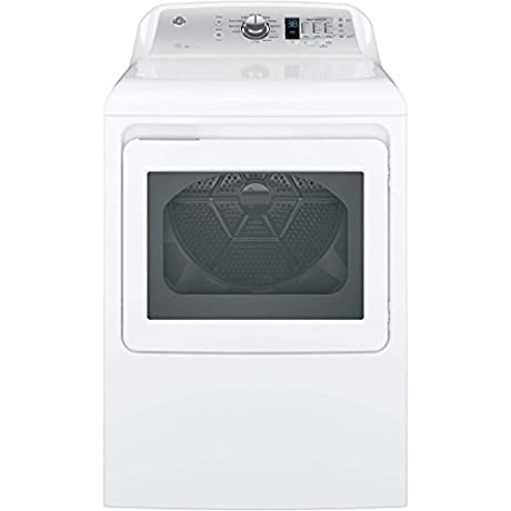 GE GTD65EBSJWS 27 Energy Star Rated Front Load Electric Dryer With 7 4 Cu Ft Capacity In White