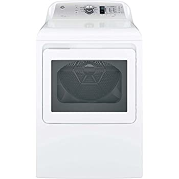 Amazon Com Ge Gtd65ebsjws 7 4 Cu Ft White Electric