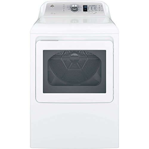 GE GTD65EBSJWS 7.4 Cu. Ft. White Electric Dryer - Energy Star