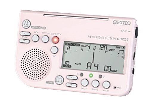 Power Seiko Supply (SEIKO Metronome & Tuner STH200P (PINK)【Japan Domestic Genuine Products】 【Ships from Japan】)
