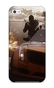 9321090K19545855 Tpu Case Cover Compatible For Iphone 5c/ Hot Case/ Battlefield: Hardline