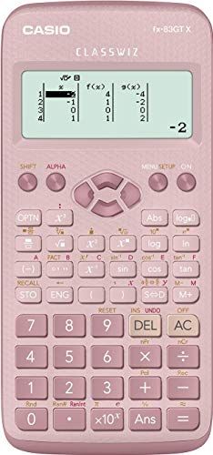 New Casio FX-83GTX Scientific Calculator Pink