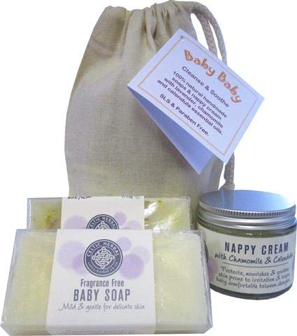Baby Baby Cleanse and Soothe. All Natural Aromatherapy Soaps and Nappy Cream. Celtic Herbal Company