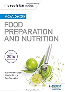 Food technology recipes 2nd edition amazon mr jonathan my revision notes aqa gcse food preparation and nutrition mrn forumfinder Images