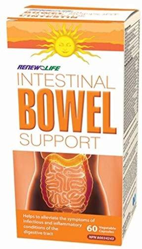 Renew Life IBS Intestinal Bowel Support -- 120 Vegetarian Capsules (Renew Life Ibs Kit)