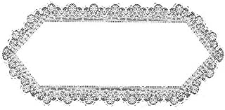 product image for Heritage Lace Prelude 14-Inch by 30-Inch Runner, White