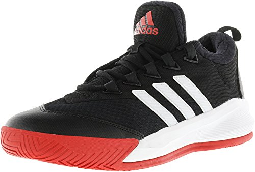 Adidas Herre Crazylight 2.5 Aktivt Sort / Hvid / Skarlagen 0fqJme