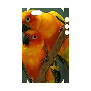 GTROCG Kissing Parrots Bird Phone 3D Case For iPhone 5,5S [Pattern-3]