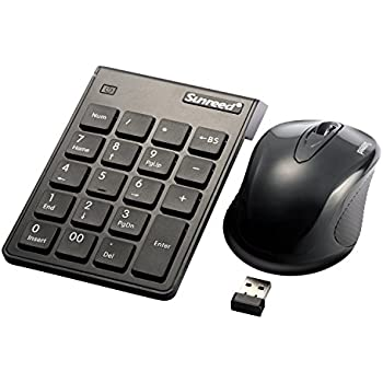 numeric keypad mouse combo sunreed 2 4g wireless mini usb number pad keyboard and. Black Bedroom Furniture Sets. Home Design Ideas