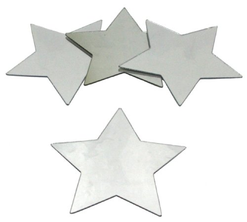 RoomMates MIR0009STS Star Peel & Stick Mirrors by RoomMates