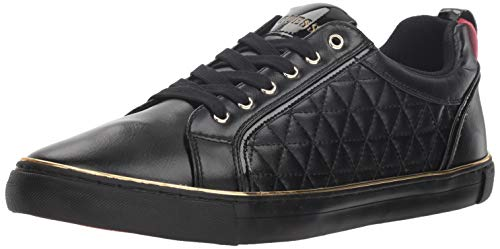 Patent Men Sneakers - GUESS Men's MOZER Sneaker, Black Patent, 10 M US