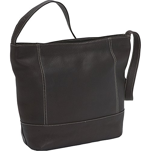 le-donne-leather-ld-9134-cafe-shoulder-handbag-cafe