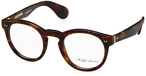 Ralph Lauren RL6149P Eyeglass Frames 5017-48 - 48mm Lens Diameter Jerry Havana - Mens Shades Lauren Ralph