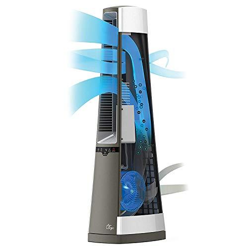 Lasko Ac600 Air Logic Bladeless Tower Fan Provides Quiet