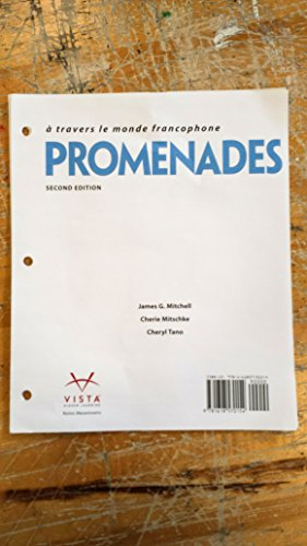 Promenades 2nd Loose-leaf Student Textbook ~ TEXT ONLY, NO CODE