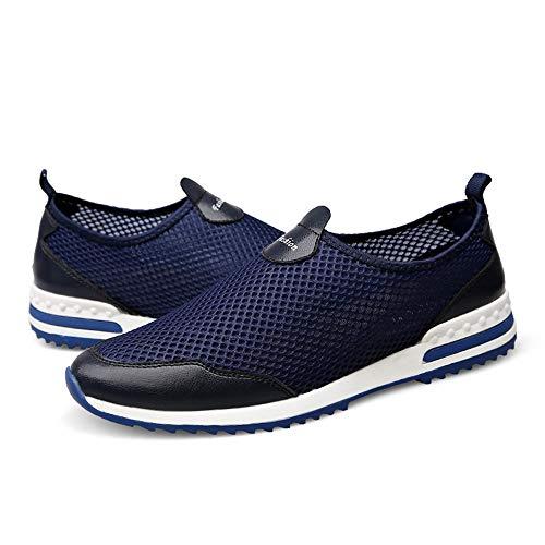 Bateau shoes Pour Bleu Homme Jiuyue Chaussures ZTqwEga