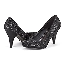 Women's Rhinestones Classic Low Heel Shoes