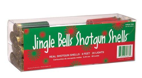Keystone Products Jingle Bells Shotgun Shells Christmas - Shell Shotgun Lights Christmas
