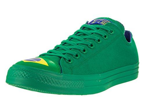 Converse Chuck Taylor All Star Lo Brazil Sneaker Grön / Blå / A