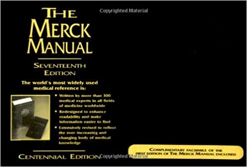 The merck manual of diagnosis and therapy 17th edition the merck manual of diagnosis and therapy 17th edition centennial edition 17th edition negle Images