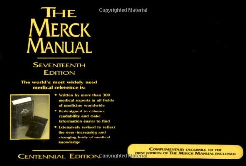 The Merck Manual of Diagnosis and Therapy, 17th Edition (Centennial Edition)