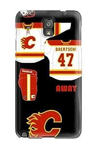 New Calgary Flames (1) Tpu Case Cover, Anti-scratch LYPSFVn3232uTzCs Phone Case For Galaxy Note 3