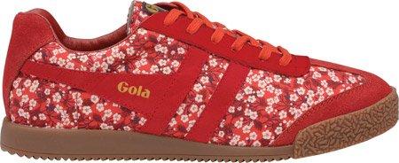 Gola Women's Harrier Misti Valeria CLA377 Fashion Sneaker,Red,9 M US