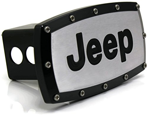 tow hitch cover jeep - 3