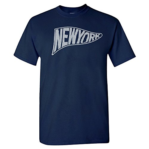 Xtreme Apparrel New York Pennant Flag Shirt (Yankees Fan Series)